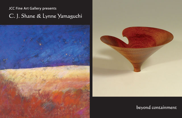 "The Tucson JCC Fine Art Gallery presents C J Shane and Lynne Yamaguchi: ""Beyond Containment"""